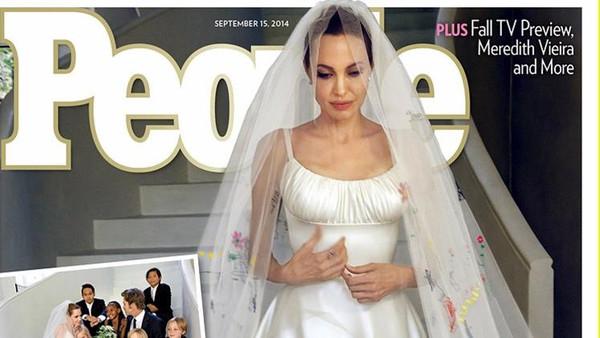 """بالصور: تفاصيل جديدة ومثيرة عن زفاف """"اسطورة برانجيلينا"""""""