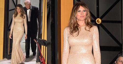 بالفيديو والصور: جمال زوجة ترامب بتوقيع لبناني