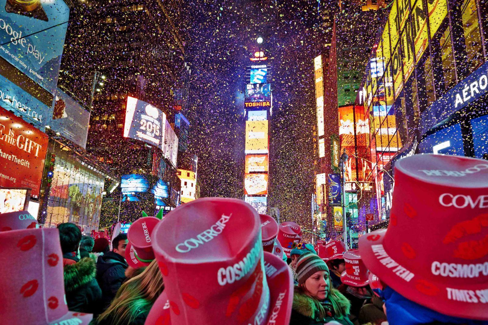 أنا وجدّي في نيويورك ورأس السنة في الضيعة!!