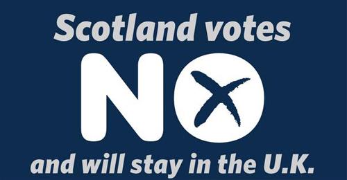 """بالصور: """"لا"""" تحسم الاستفتاء التاريخي… الاسكتلنديون رفضوا الاستقلال واختاروا المملكة المتحدة"""