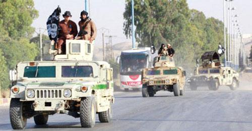 """فشل عسكري ايراني و""""داعش"""" تستولي على اسلحة الجيش"""