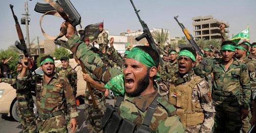 """العراق: على خط المواجهة مع المقاتلين الشيعة الذين يشنون الحرب على """"داعش"""""""