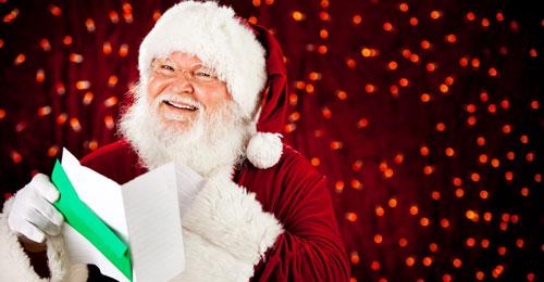 Lettre d'un adulte enfant au père Noël