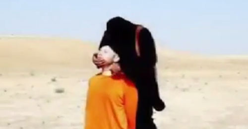 """بالفيديو: رسالة """"داعش"""" الثانية لأميركا ذبح الصحافي """"ستيفن سوتلوف"""""""