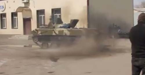 """بالفيديو: """"Drift"""" بالدبابات الثقيلة !"""