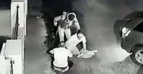 بالفيديو: مسلّحون ينفذون عملية خطف في مجدل عنجر والكاميرا تسجّل!
