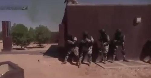 """بالفيديو: تدريبات القوات السعودية لردع """"داعش"""""""