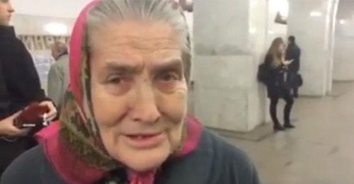 """بالفيديو: """"الفيسبوك"""" يجمع عجوزاً روسية بشارل أزنافور"""