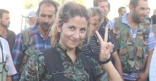 """ريحانا الكردية حيّة ولم تقتلها """"داعش""""!"""
