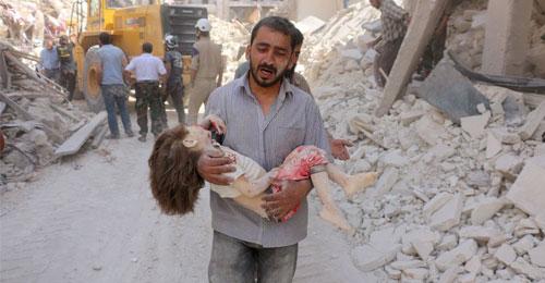أكثر من 600 ألف شخص مهددون بإبادة جماعية في حلب