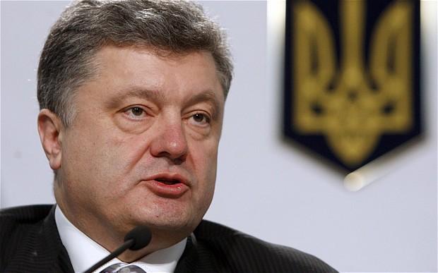 بوروشينكو: بوتين يرغب بإختفاء أوكرانيا من خريطة أوروبا