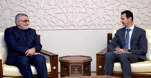 الأسد يستقبل مسؤولين إيرانيين بدمشق: طهران شريكتنا في انتصاراتنا
