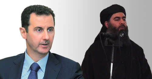 بين دولة البغدادي ودولة بشار (Video inside) (بقلم نور نصّار)