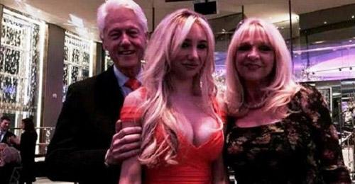 """هل فعلها مجددا الـ""""دون جوان"""" الأميركي بيل كلينتون؟"""
