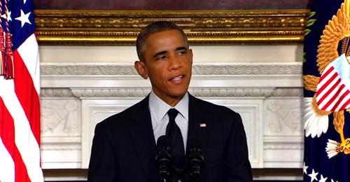 """بالفيديو: أميركي لأوباما… """"سيدي الرئيس لا تلمس حبيبتي!"""""""