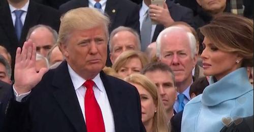 بالصور: ترامب رئيساً لأميركا