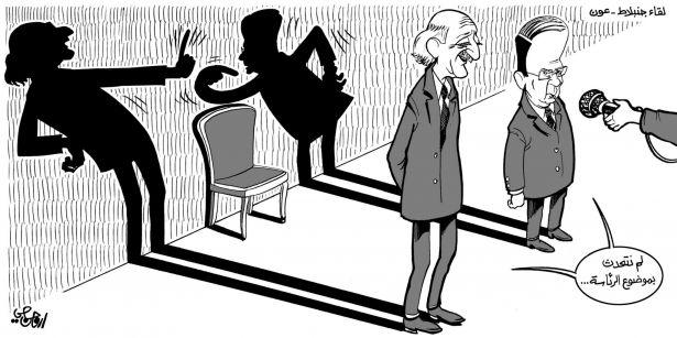 كاريكاتور الصحف الخميس 18 أيلول 2014