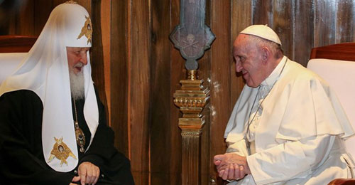 Joint Declaration of Pope Francis and Patriarch Kirill