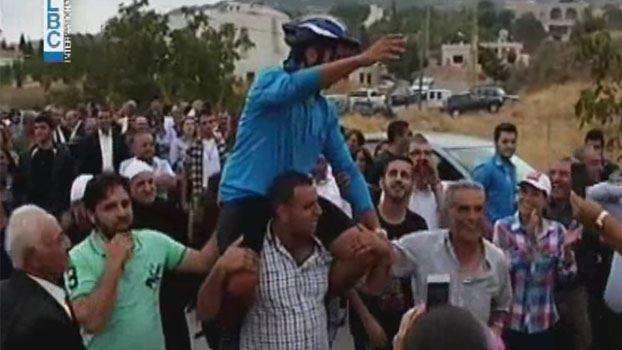 بالفيديو: عبر 7 بلدان على الدراجة الهوائية… تعبيرا عن حبه للبنان