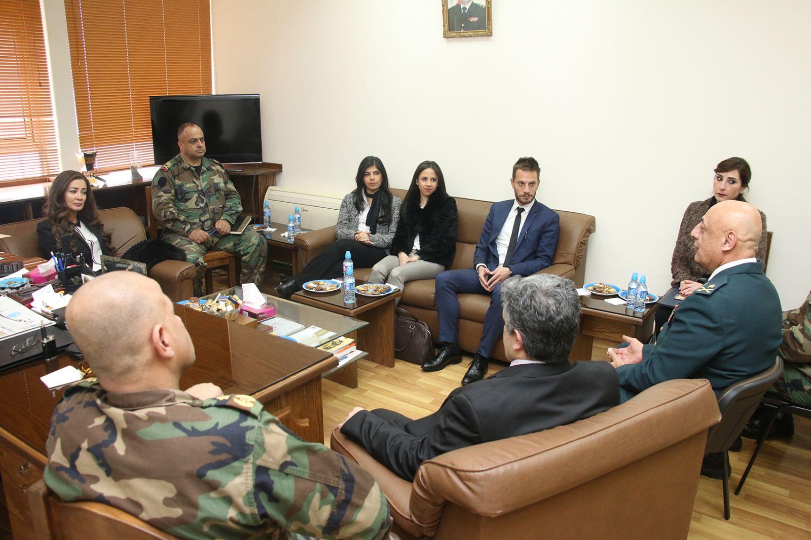 تعاون في ميدان صحة وسلامة الغذاء بين جامعة الروح القدس ومديرية التعليم في أركان الجيش
