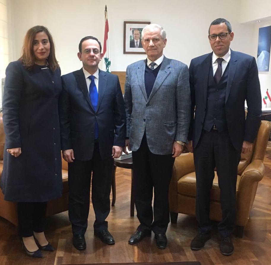 رئيس بلدية بعلبك زار كيدانيان وعرض معه النشاطات السياحية