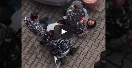 خاص – بالفيديو: توقيف عصابة سرقة في عين الرمانة