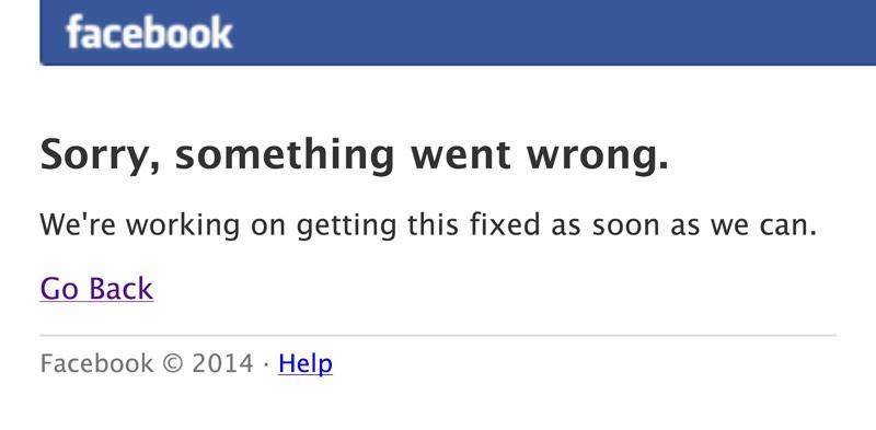 """تعطل خدمة موقع """"facebook"""" لملايين المستخدمين في العالم"""