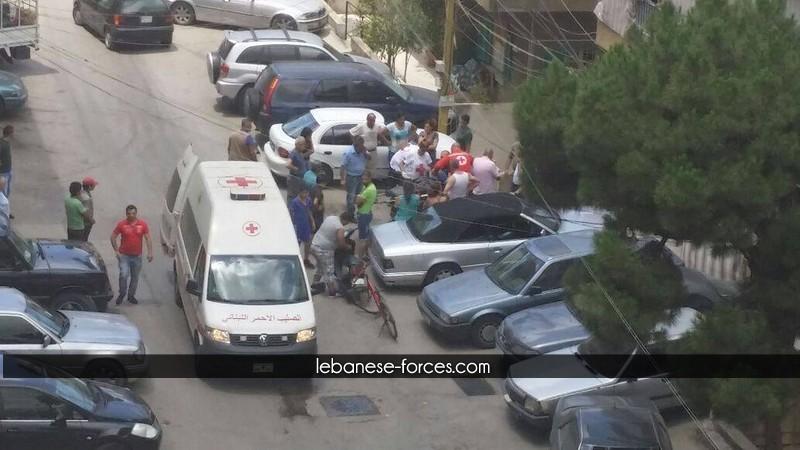 """خاص موقع """"القوات"""" بالفيديو: إطلاق  نار على مواطن في السبتية"""