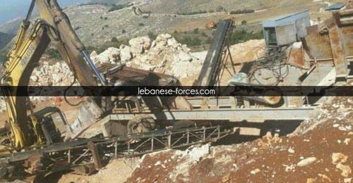 """خاص موقع """"القوات"""": بعدما سويّت الخلافات بين حبيش وعبدو… مشروع كسّارة إلى الواجهة"""