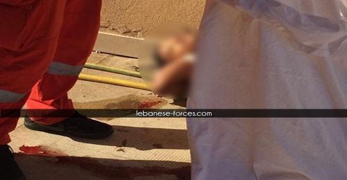 خاص بالصور: إنتحار عاملة أجنبية من الطبقة 15