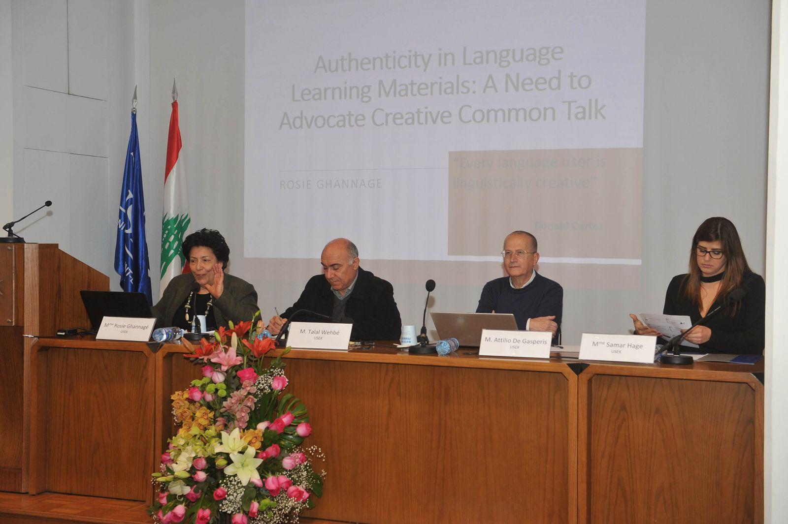 اليوم العالمي للغة الأم في جامعة الروح القدس – الكسليك