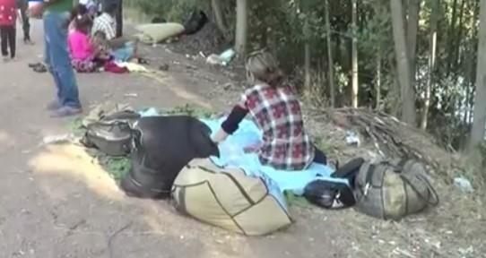 """بالفيديو: الإيزيديون ومغامرة العبور الى تركيا بعد """"رعب"""" العراق"""