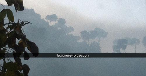 """خاص موقع """"القوات"""": عاليه تحرق نفاياتها فوق القرى المجاورة… المعنيون غائبون والمشكلة برسم الداخلية"""