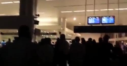 بالفيديو: فضيحة جديدة… العتمة تغزو مطار بيروت