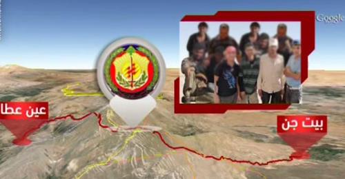 بالفيديو: كشف شبكة قاتلت في عرسال واستقرت في عين عطا