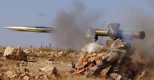 """صاروخ """"Tow"""" قاهر دبابات الاسد"""