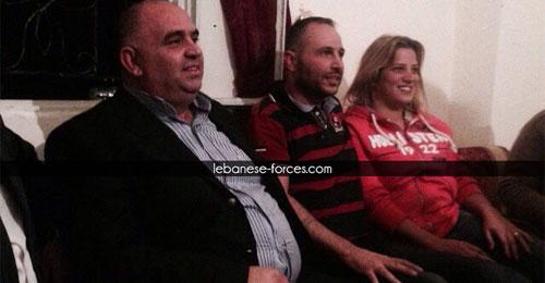 خاص بالصور والفيديو: المخطوف توفيق ديب وهبي الى الحرية