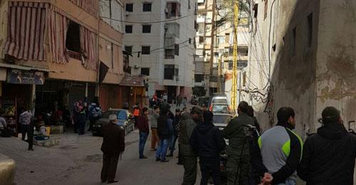 بالصور: مبنيان مهدّدان بالإنهيار في برج البراجنة وتحويطة غدير