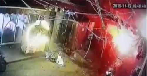 فيديو جديد للحظة وقوع انفجار برج البراجنة