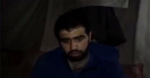 """بالفيديو: أسير """"حزب الله"""" لدى الجيش السوري الحر ولا مفاوضات للإفراج عنه"""