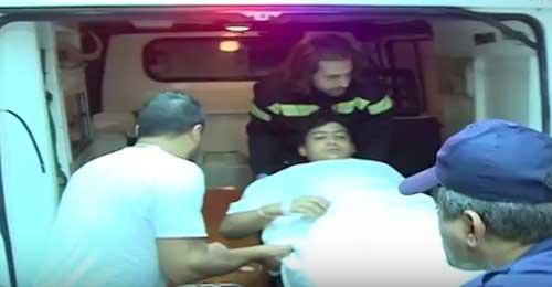 بالفيديو: يا ماما لحقيني… على بعد 1 ملم نجا حسين من رصاص الضاحية الجنوبية