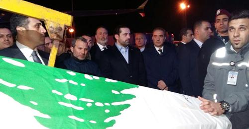 ضحايا اعتداء اسطنبول في حضن وطنهم الأم… والعلم اللبناني يغمر الشهداء