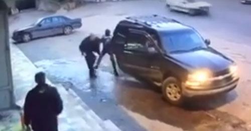 خاص بالفيديو: لحظة خطف المواطن سعد ريشا بقاعاً