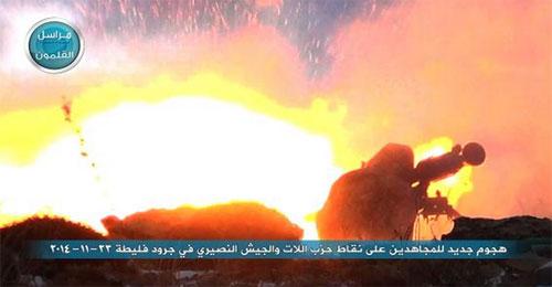 """بالصور: """"النصرة"""" تعلن شن هجوم على جرود فليطا ومقتل 15 من """"حزب الله"""" وجيش الأسد"""