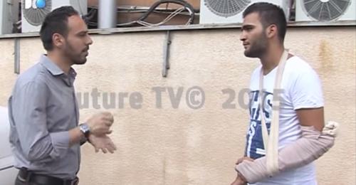 بالفيديو: سرايا المقاومة تعتدي على مواطن في المدينة الرياضية وتلاحقه الى منزله
