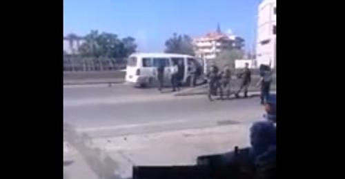 فيديو يظهر خطف 5 عسكريين على طريق المنية – عكار والجيش يحبط العملية