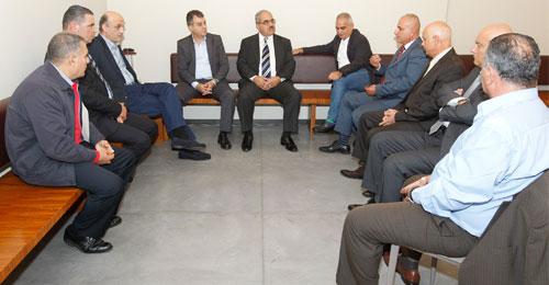 جعجع استقبل وفد اتحاد بلديات دير الأحمر: الجيش اللبناني يتحمّل مسؤوليته على أكمل وجه