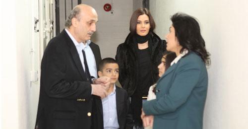 بالصور: انطوانيت شاهين وعائلتها في ضيافة معراب… وعودة الى زمن الزنزانة