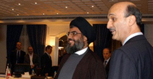 نصر الله الإستراتيجي الإقليمي وجعجع المحلّي