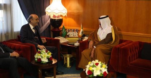 جعجع في السعودية: حليف فوق العادة